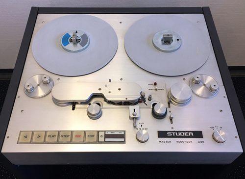 Studer A80 Master Recorder – Nur 468 Betriebsstunden !!!
