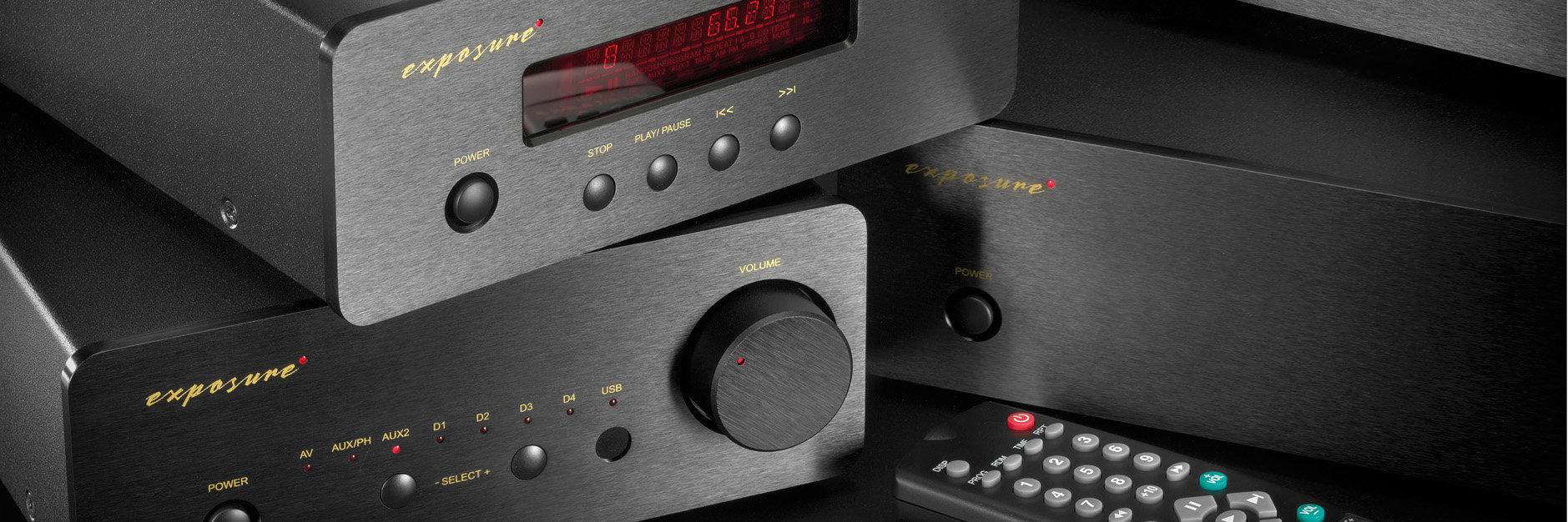 Exposure XM CD, XM7 Pre, XM9